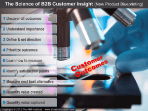 9 Levels in the Science of B2B Customer Insight