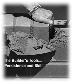 The B2B Growth Leader: Bricklayer Graphic