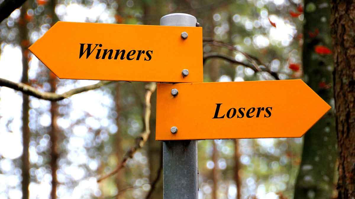 124 Winners and Losers