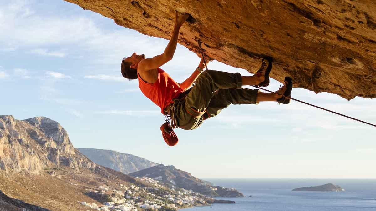 130 Rock Climber