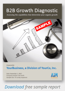 Benchmark Your Growth Capabilities - The AIM Institute