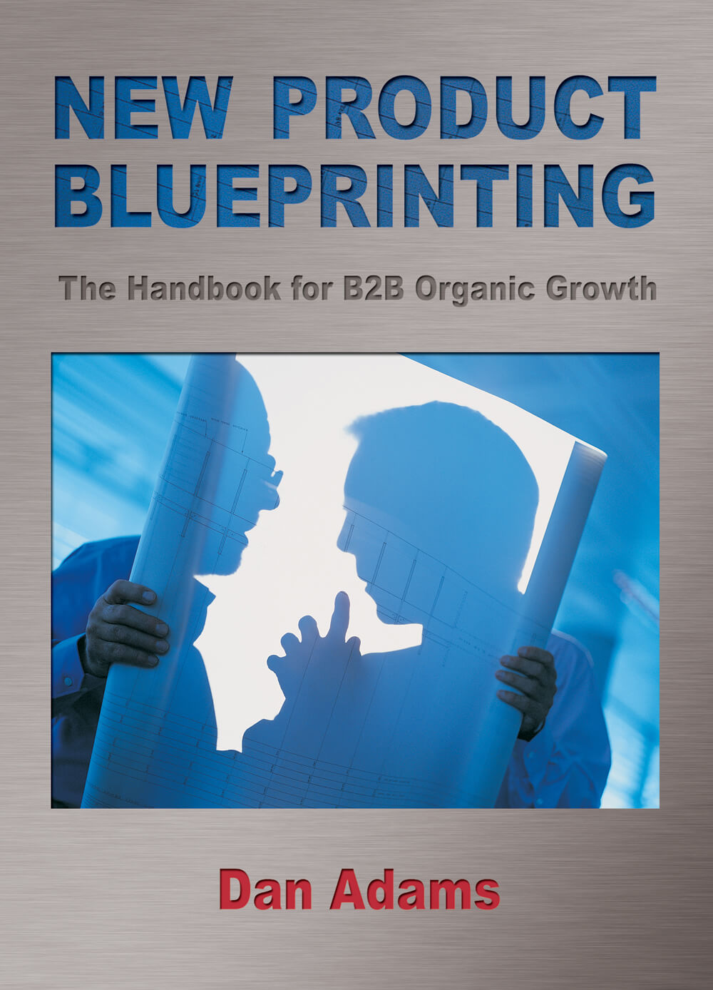 New Product Blueprinting Book Cover Flat Graphic