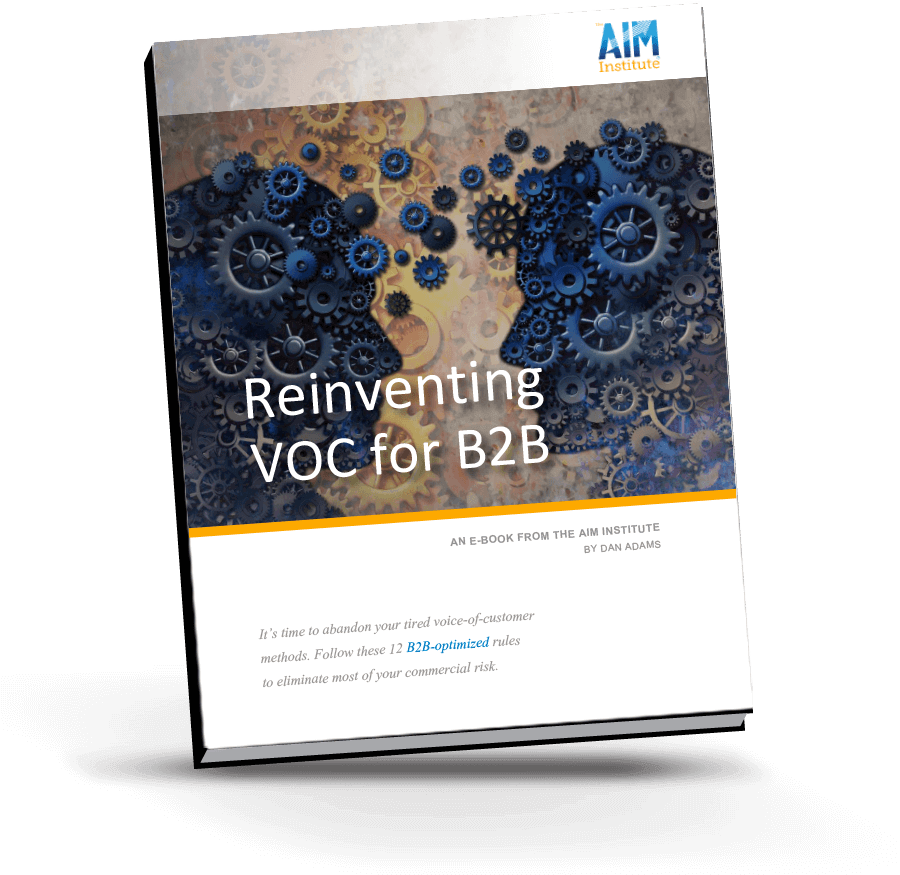 Reinventing VOC for B2B eBook from The AIM Institute