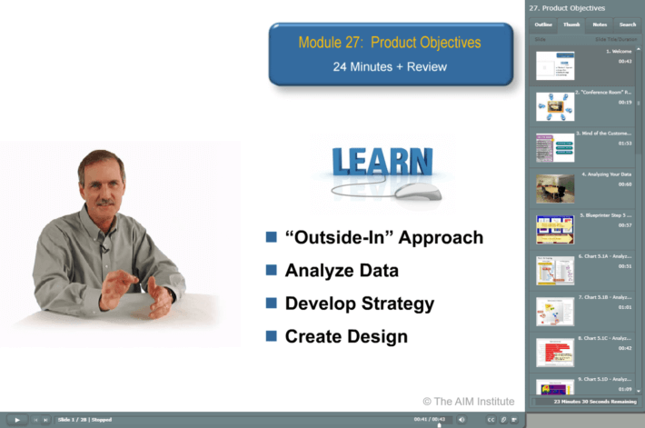Training New Product Blueprinting In-House-Blueprinting Workshops E-Learning