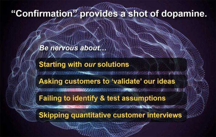 Confirmation bias should make innovators nervous