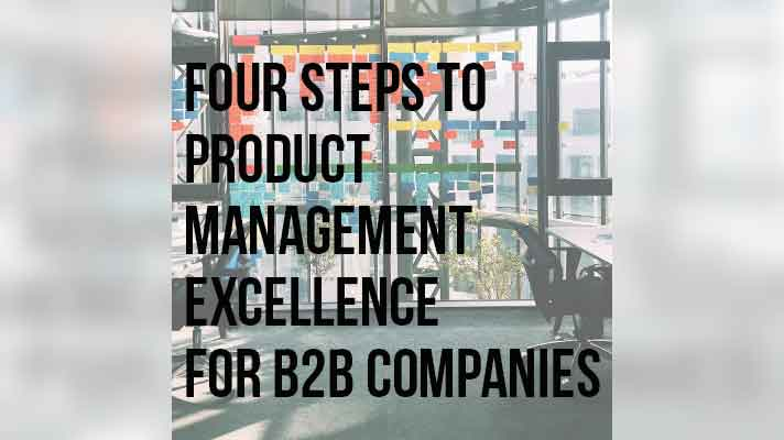 4 Steps to Product Management article by Scott Burleson