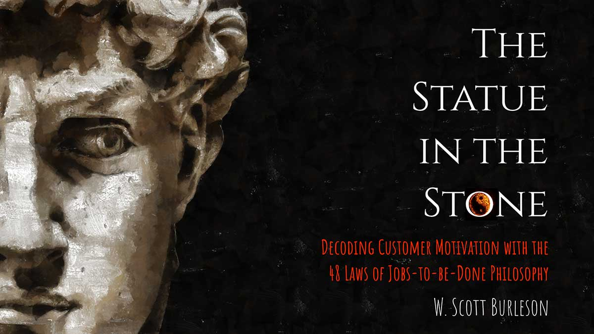 The Statue in the Stone Book by Scott Burleson
