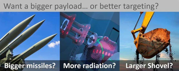 Bigger-payload-or-better-targeting