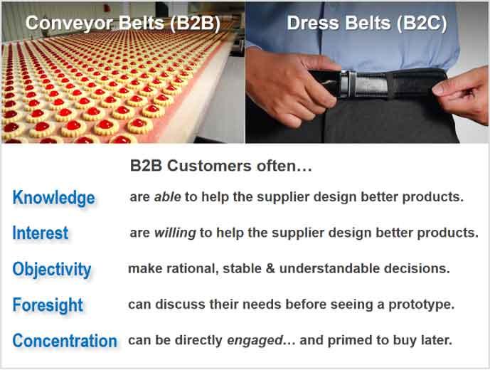 5 B2B vs. B2C differences that are key to B2B organic growth