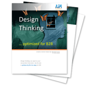 Design thinking process whitepaper