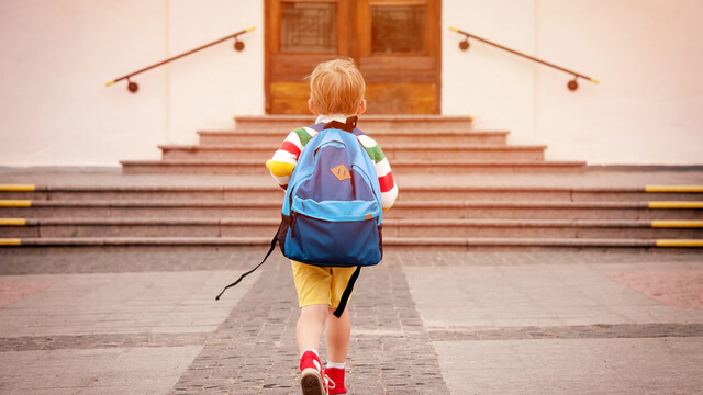 Child walking to school - Primer for the voice of the customer