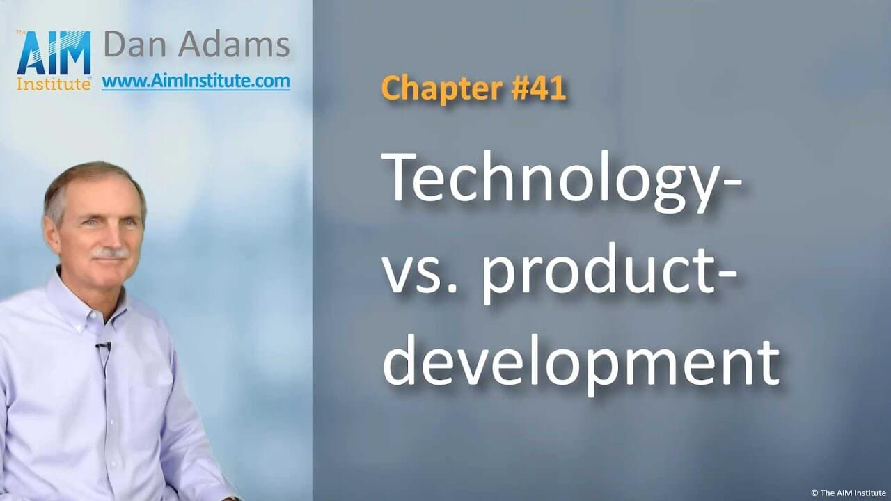 Chapter-41-Technology-vs.-Product-development